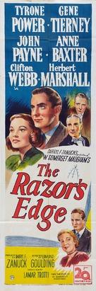 The Razor's Edge - British Movie Poster (xs thumbnail)