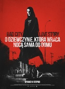 A Girl Walks Home Alone at Night - Polish Movie Poster (xs thumbnail)