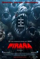 Piranha - Mexican Movie Poster (xs thumbnail)