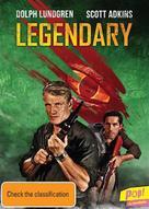 Legendary: Tomb of the Dragon - Australian DVD movie cover (xs thumbnail)