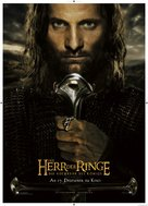 The Lord of the Rings: The Return of the King - German Movie Poster (xs thumbnail)