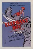 Elephant Boy - British Movie Poster (xs thumbnail)