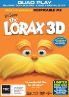 The Lorax - New Zealand DVD cover (xs thumbnail)