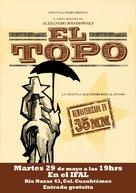 El topo - Brazilian Movie Poster (xs thumbnail)