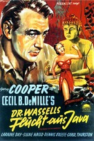 The Story of Dr. Wassell - German Movie Poster (xs thumbnail)