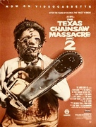The Texas Chainsaw Massacre 2 - Video release movie poster (xs thumbnail)