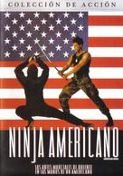 American Ninja - Mexican DVD cover (xs thumbnail)