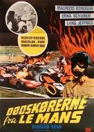 Le Mans scorciatoia per l'inferno - Danish Movie Poster (xs thumbnail)