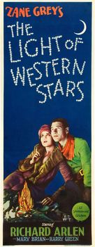 The Light of Western Stars - Movie Poster (xs thumbnail)