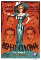 Lillian Russell - Spanish Movie Poster (xs thumbnail)