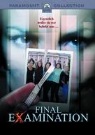 Final Examination - German DVD cover (xs thumbnail)
