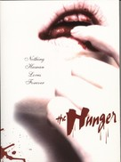 The Hunger - DVD movie cover (xs thumbnail)