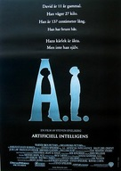 Artificial Intelligence: AI - Swedish Movie Poster (xs thumbnail)