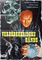 En la palma de tu mano - German Movie Poster (xs thumbnail)