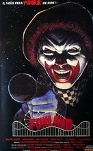 Funland - French VHS movie cover (xs thumbnail)