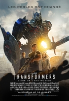 Transformers: Age of Extinction - French Movie Poster (xs thumbnail)