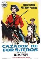 The Tin Star - Spanish Movie Poster (xs thumbnail)