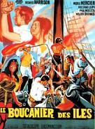 Il giustiziere dei mari - French Movie Poster (xs thumbnail)