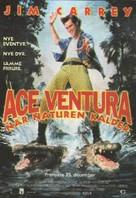 Ace Ventura: When Nature Calls - Danish Movie Poster (xs thumbnail)