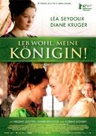 Les adieux à la reine - German Movie Poster (xs thumbnail)