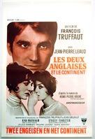 Deux anglaises et le continent, Les - Belgian Movie Poster (xs thumbnail)