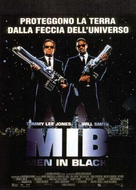 Men In Black - Italian Movie Poster (xs thumbnail)