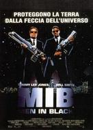 Men in Black - Italian Movie Poster (xs thumbnail)