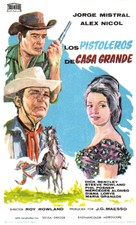 Gunfighters of Casa Grande - Spanish Movie Poster (xs thumbnail)