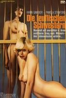 Die teuflischen Schwestern - German Movie Poster (xs thumbnail)