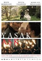 En kongelig affære - Turkish Movie Poster (xs thumbnail)