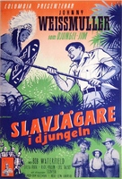 Jungle Manhunt - Swedish Movie Poster (xs thumbnail)