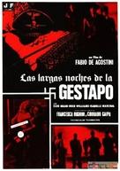 Le lunghe notti della Gestapo - Spanish DVD cover (xs thumbnail)