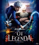 Rise of the Guardians - Hungarian Blu-Ray cover (xs thumbnail)