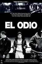 La haine - Spanish Movie Poster (xs thumbnail)