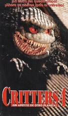 Critters 4 - Argentinian Movie Cover (xs thumbnail)