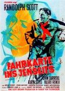 Decision at Sundown - German Movie Poster (xs thumbnail)