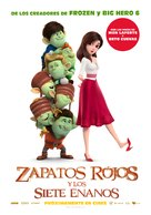 Red Shoes & the 7 Dwarfs - Argentinian Movie Poster (xs thumbnail)