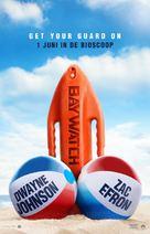 Baywatch - Dutch Movie Poster (xs thumbnail)