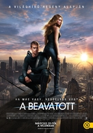 Divergent - Hungarian Movie Poster (xs thumbnail)