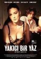 Un été brûlant - Turkish Movie Poster (xs thumbnail)