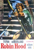 The Adventures of Robin Hood - Swedish Movie Poster (xs thumbnail)