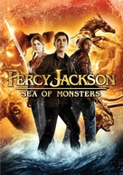 Percy Jackson: Sea of Monsters - DVD movie cover (xs thumbnail)