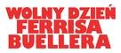 Ferris Bueller's Day Off - Polish Logo (xs thumbnail)