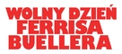 Ferris Bueller's Day Off - Polish Logo (xs thumbnail)