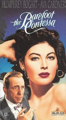 The Barefoot Contessa - VHS movie cover (xs thumbnail)
