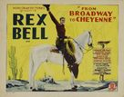 Broadway to Cheyenne - Movie Poster (xs thumbnail)