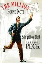 The Million Pound Note - German Movie Poster (xs thumbnail)