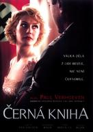 Zwartboek - Czech DVD movie cover (xs thumbnail)