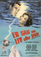 A Matter of Life and Death - Danish Movie Poster (xs thumbnail)