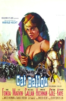 Cat Ballou - Belgian Movie Poster (xs thumbnail)